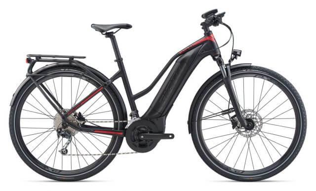 Giant Explore E+ E-bike zwart